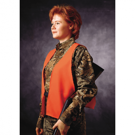 Orange Hunting Safety Vest