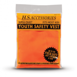 youth orange safety vest
