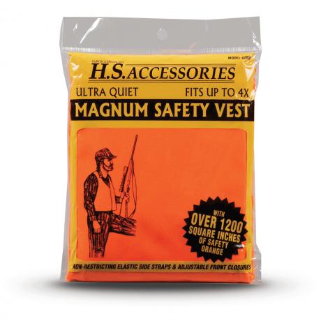 adults orange safety vest