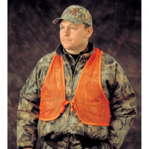 Orange Hunting Safety Vest - Mesh