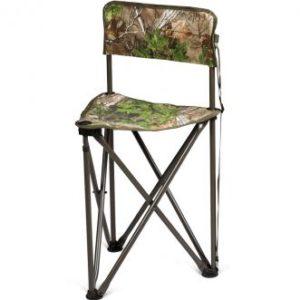 camo tripod folding chair with back