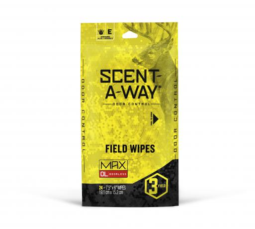 scent-a-way field wipes