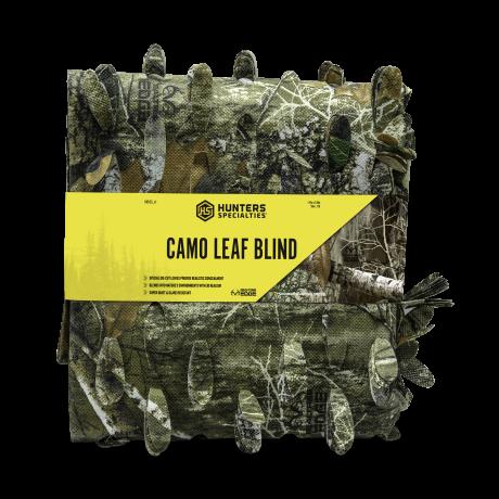 Camo leaf blind