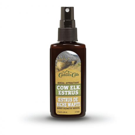 cow elk estrus spray