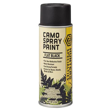 Camo Spray Paint Black